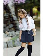 Юбка шорты для девочки в школу
