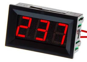 Цифровой вольтметр переменного тока 70-500V панельный