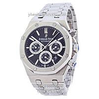 Мужские механические наручные часы Audemars Piguet Royal Oak Automatic Silver-Black