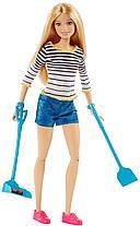 Кукла Барби Прогулка с щенком Barbie Girls Walk and Potty Pup with Blonde Doll, фото 2