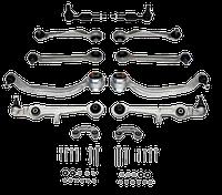 Комплект рычагов передней подвески ауди а4 б5 / Фольксваген Пассат Б5 / Passat B5 с 1996 (Конус 21-24.5mm)