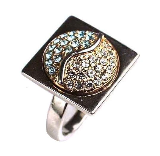 """Кольцо """"Арс"""" с кристаллами Swarovski (d887x070)"""