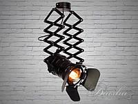 Прожектор в стиле лофт на гармошке (кинопрожектор) 9104