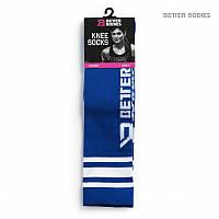 Гольфы BB Knee Socks, Strong Blue