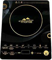 Индукционная плита настольная MONTE MT 2102 (2000 Вт, сенсорное управление)