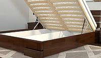 Кровать ДАЛИ ЛЮКС сосна 160*200 с подемным механизмом