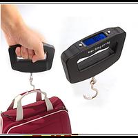 Электронные цифровые весы-кантер Electronic Digital Luggage Scale с ремешком+батарейки с 0,01гр до 50кг A09