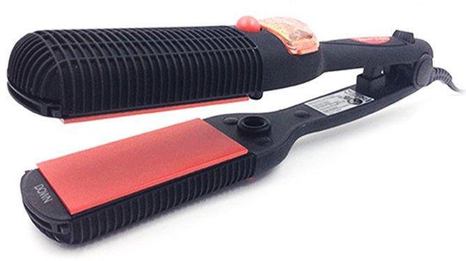 Утюжок плойка для волос 2 в 1 Profi Dampf Hairstyler (2 насадки)