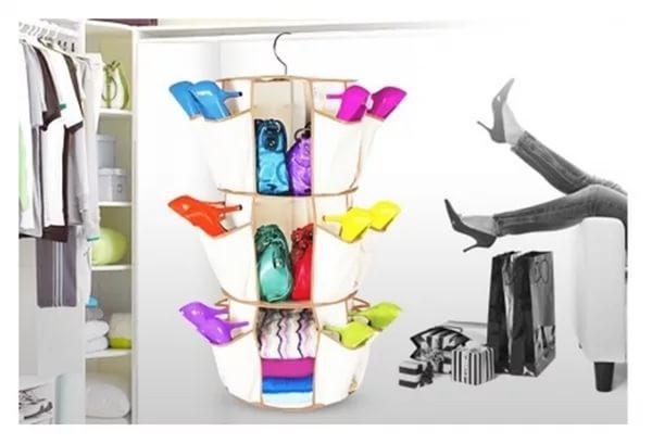 Органайзер для хранения обуви и одежды Smart Carousel Intake - Интернет магазин Best Goods в Киеве