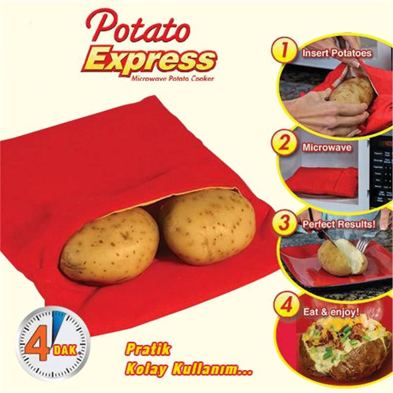 Многоразовый мешочек для запекания картошки Potato Bag Express - Best Goods в Киеве