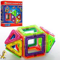 Детский магнитный конструктор Mag-Puzzle (14 деталей), интерактивная игрушка