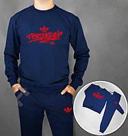 Синий спортивный костюм адидас в Украине. Сравнить цены, купить ... 4a72f618059