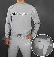Сірий костюм спортивний Champion