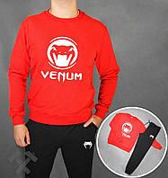 Спортивный костюм мужской Venom с красной кофтой