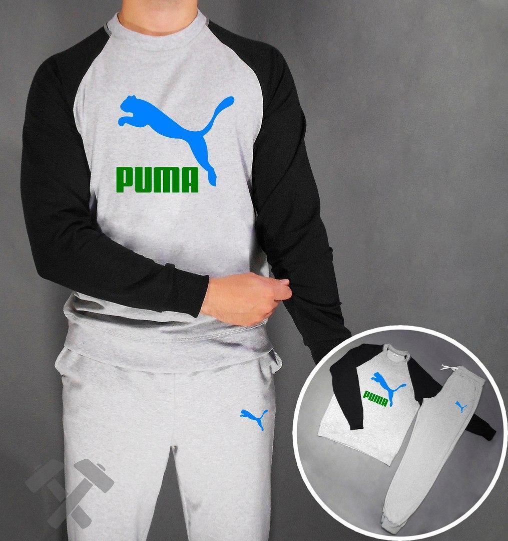 Модный костюм для спорта Пума