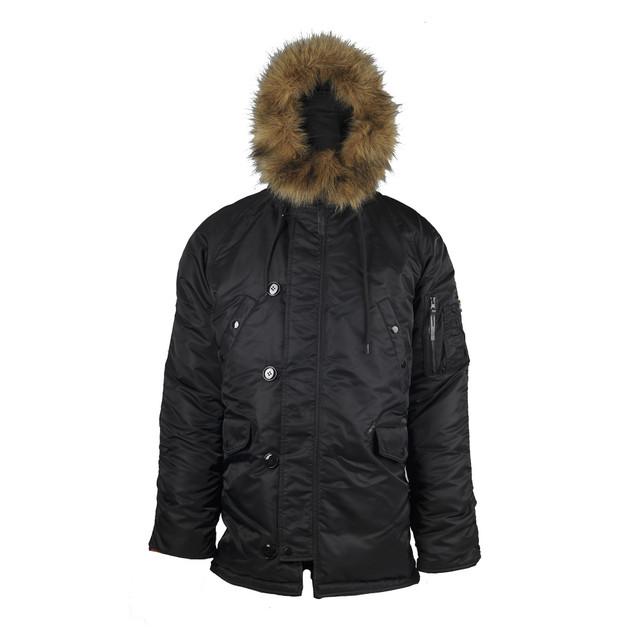 Теплые зимние куртки, аляски, пуховики