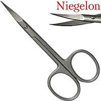 Niegelon Ножницы 06-0815 маникюрные заусеничные загнутые Professional Titan