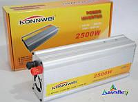 Автомобильный инвертор, преобразователь напряжения Konnwei 12/220 2500w