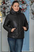 Куртка женская короткая с капюшоном синтепон 200