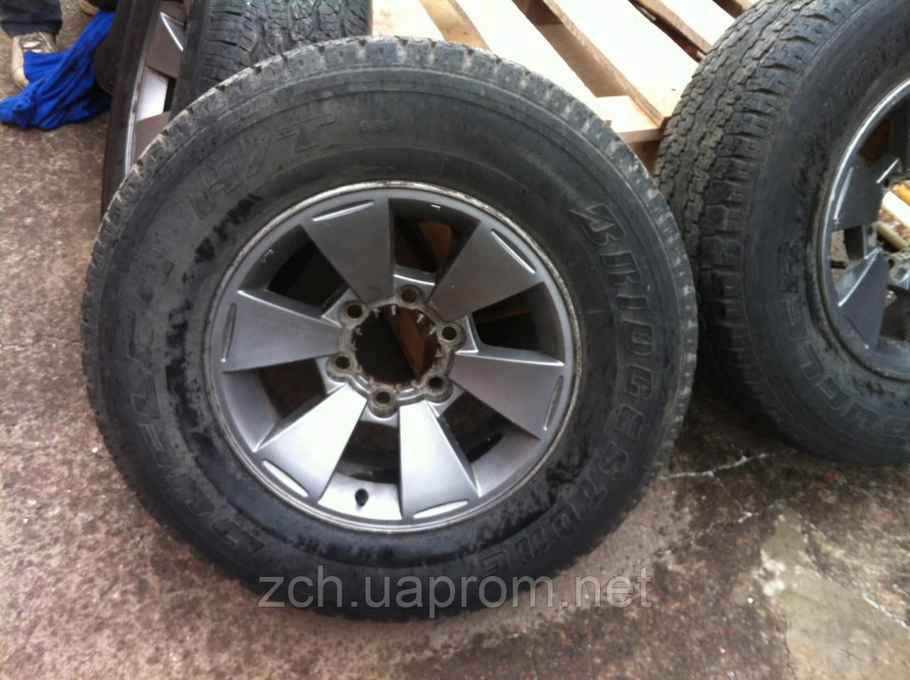 Запаска Mitsubishi Pajero Sport