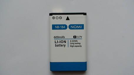 Аккумулятор  (АКБ, батарея) Nomi i184 (NB-184), оригинал!, фото 2