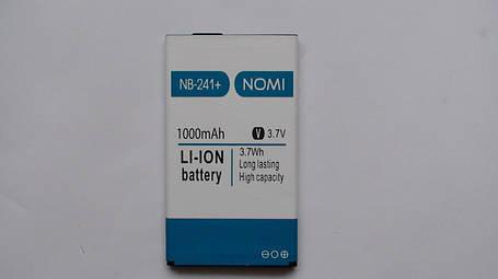 Аккумулятор  (АКБ, батарея) Nomi i241 (NB-241), оригинал!, фото 2