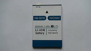 Аккумулятор  (АКБ, батарея) Nomi i5010 EVO M (NB-5010), оригинал!, фото 2