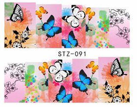 Слайд для дизайна ногтей STZ-91