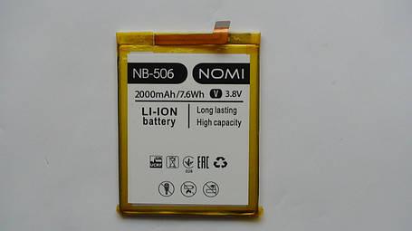 Аккумулятор  (АКБ, батарея) Nomi i506 Shine (NB-506), оригинал!, фото 2