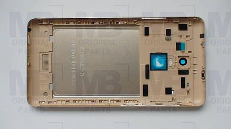 Задняя крышка (панель)  Xiaomi Redmi Note 3  Gold, оригинал!, фото 2