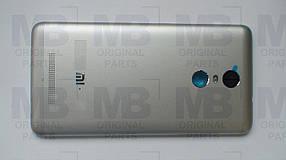 Задняя крышка (панель)  Xiaomi Redmi Note 3 Silver, оригинал!