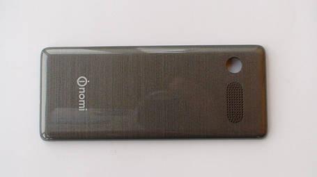 Задняя крышка (панель) Nomi i241 серая, оригинал , фото 2