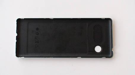 Задняя крышка (панель) Nomi i241 серебристая, оригинал , фото 2