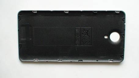 Задняя крышка (панель) Nomi i5010 EVO M серебристая, фото 2