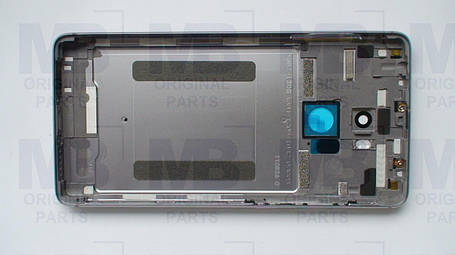 Задняя крышка (панель) Xiaomi Redmi 4 Prime Gray, оригинал!, фото 2