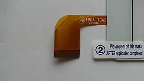 Сенсор (тачскрин) Nomi C070020 Corsa Pro белый , оригинал , фото 2