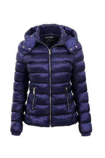 Куртка женская синяя демисезонная