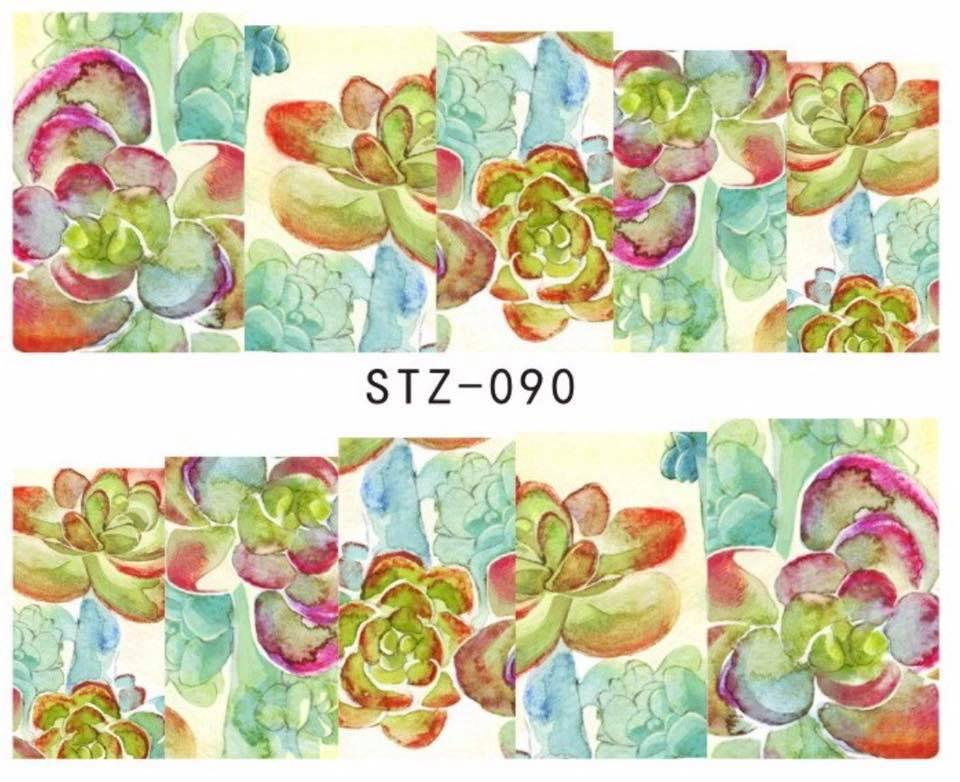 Слайд для дизайна ногтей STZ-90