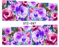 Слайд для дизайна ногтей STZ-87