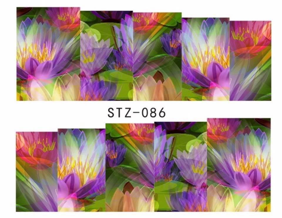 Слайд для дизайна ногтей STZ-86