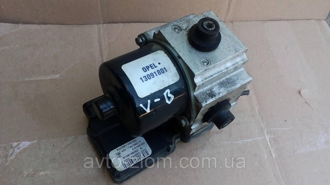 Блок управления ABS Opel Vectra B, Опель Вектра Б. 13216601-F. 13091801.
