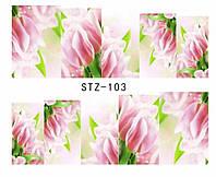 Слайд для дизайна ногтей STZ-103