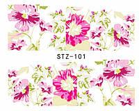 Слайд для дизайна ногтей STZ-101