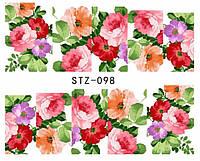 Слайд для дизайна ногтей STZ-98