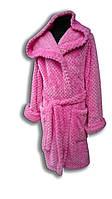 Детские махровые халаты для девочек