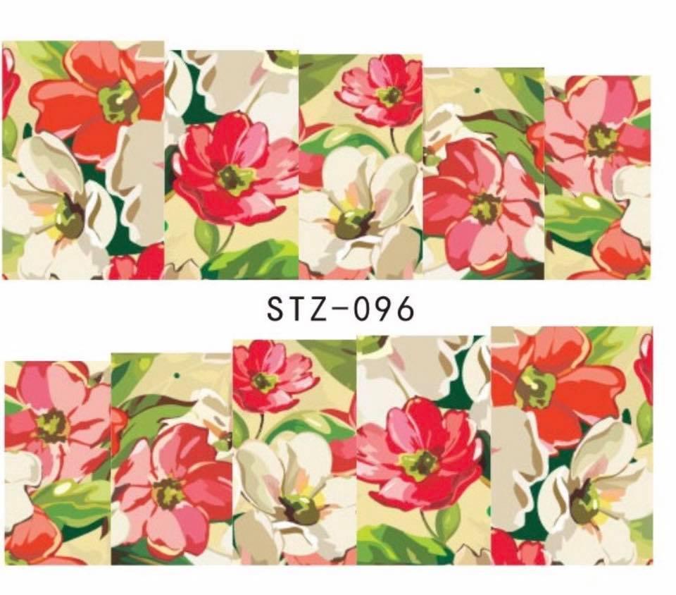 Слайд для дизайна ногтей STZ-96