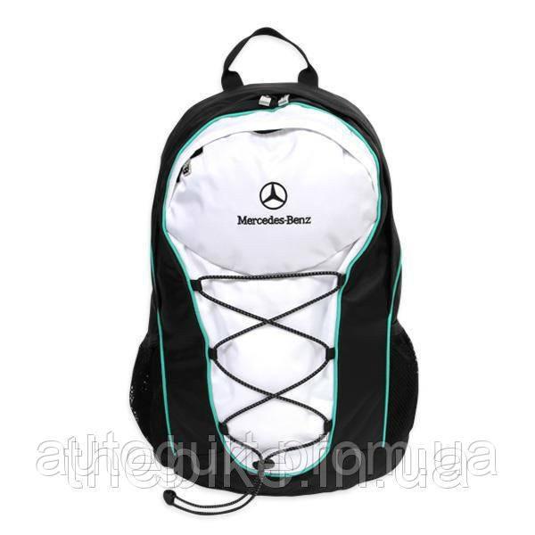 Рюкзак Mercedes-Benz Motorsport Backpack Black/Green/White