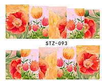 Слайд для дизайна ногтей STZ-93