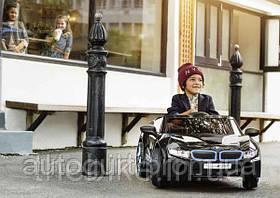 Детский электромобиль BMW i8 RideOn, Black