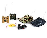 Танковый бой World of Tanks. Танки на радиоуправлении 99820 Zegan T-90 и KingTiger 1:28 KK